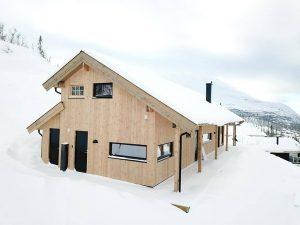 nízkoenergetické stavby chata se sip systém