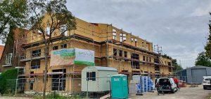 výstavba bytového domu se sip panelové stavby