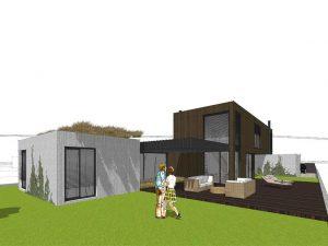 rodinný dom systémom sip návrh