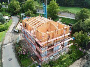 nadstavba SIP panel odlahčené stavebné materiály