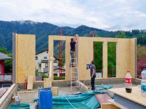 nadstavba poschodia SE SIP panel odlahčené stavebné materiály