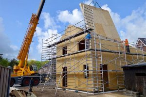 SE SIP panel rodinný dom strecha