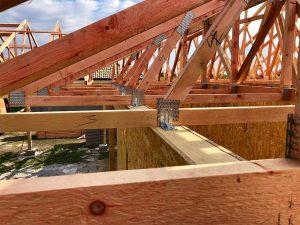 rodinný dom SE SIP panelová stavba krov