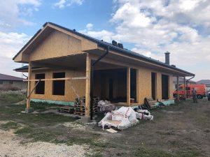 rodinný dom SE SIP panelová stavba