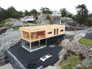 net zero energy family house SE SIP building system