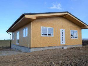 ekologické domy SIP systém net zero energy