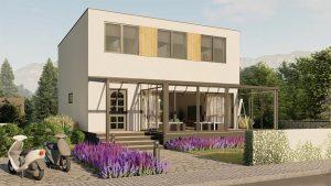 nízkoenergetické domy technológia SIP systém