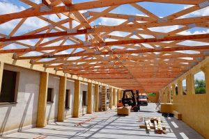 moderný systém výstavby SE SIP výrobná hala