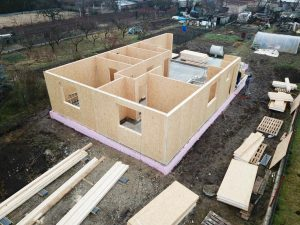 modern sip panel passive house building with SE SIP panel system