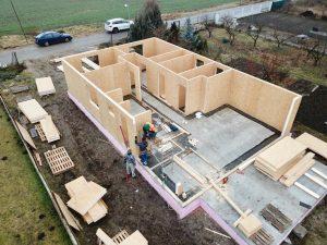 výstavba rodinného domu se-sip systémom