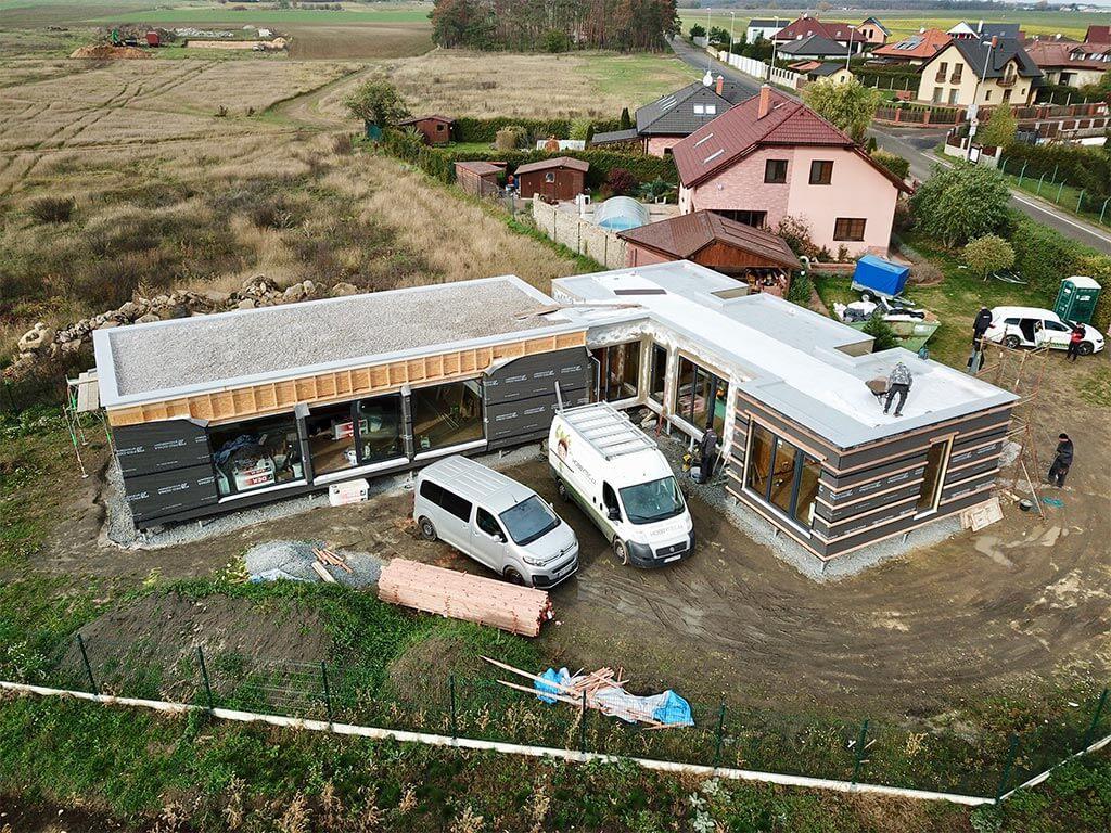 SIP panelové stavby pre komerčné použitie