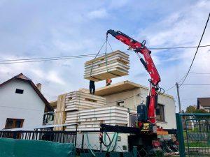 nadstavba rodinného domu SE-SIP systémom