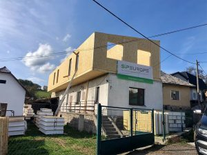 nadstavba rodinného domu systémom SE-SIP