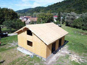 rodinné domy SIP panel systém