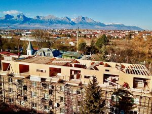 SIPEUROPE - SIP Panel - superstructure and extension of apartment house - Poprad
