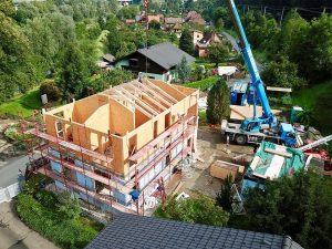 SIPEUROPE - extension and superstructure of building