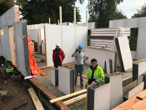 školenie stavba SE SIP panelový systém