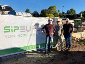 Training and Education for builders SIPEUROPE sip panel