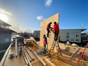 fast construction of net zero energy house SIPEUROPE