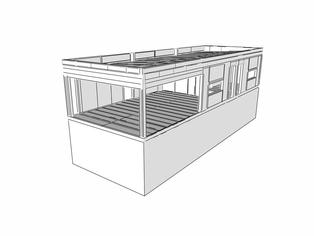 projekcia rodinného domu systém SIP