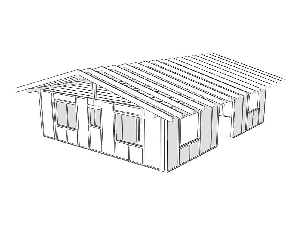 SIP panel moderná technológia výstavby rodinného domu