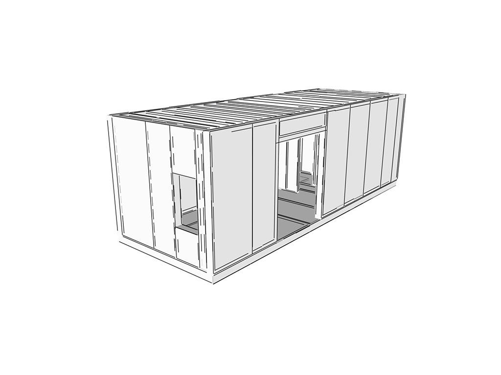 SE SIP systém 3D návrh