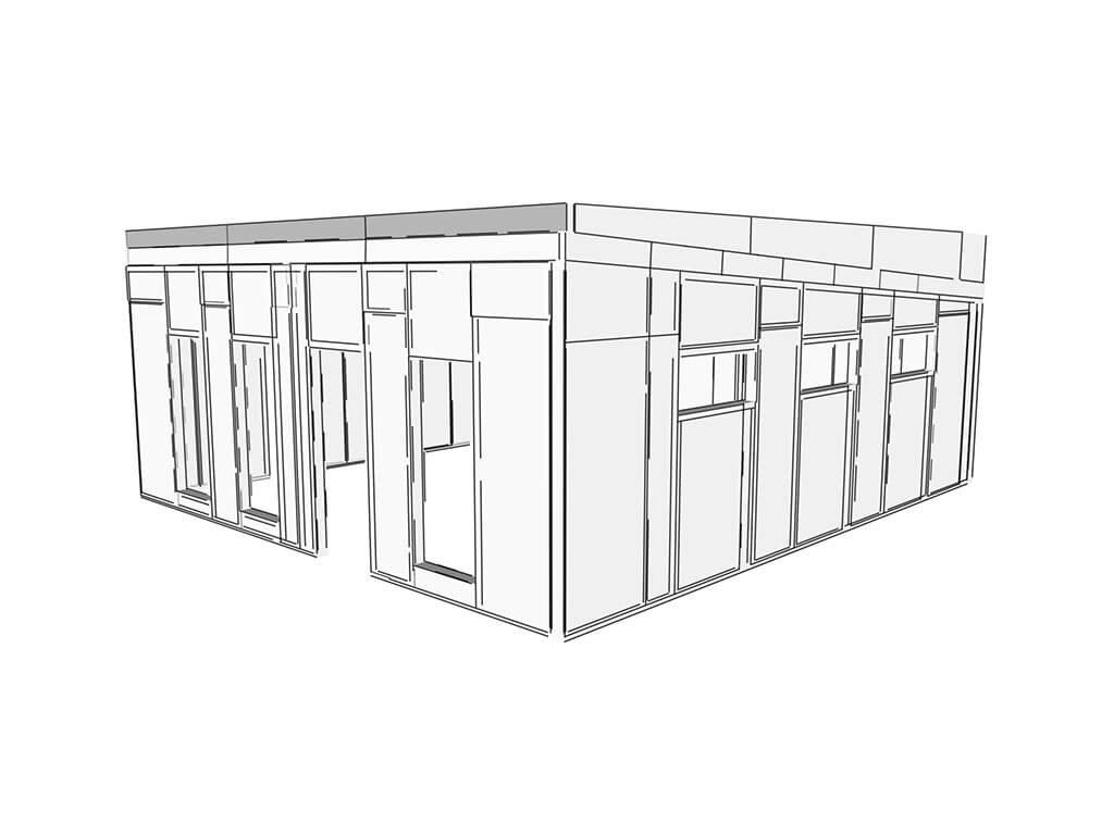 3D návrh komerčného objektu SIPEUROPE