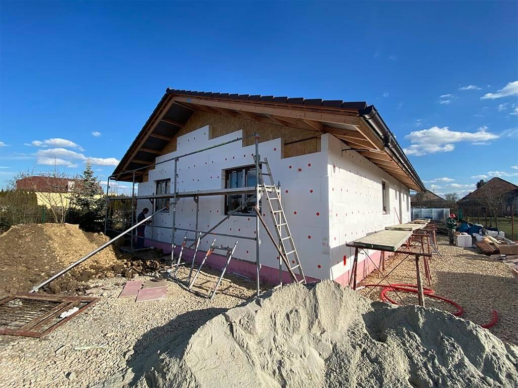 nízkoenergetický bungalov systémom sip SIPEUROPE