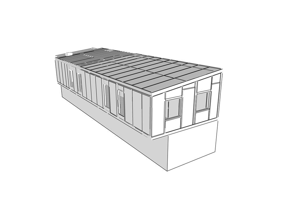 SIP panel rýchla prístavba rodinného domu