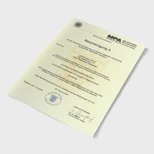 BSH certifikát sipeurope