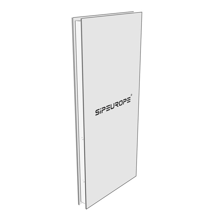 SE-SIP panel - composite passive building panel