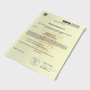 LSH certifikát sipeurope