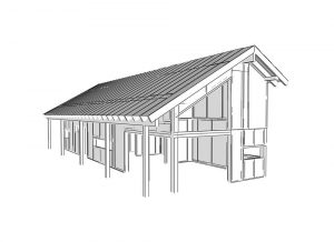 rýchla stavba chaty technológiou SIP - SE SIP Panel
