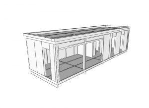 nízkoenergetická stavba - chata technológiou SIP