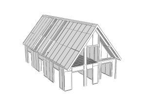 projekt a návrh domu technológiou SIP - SE-SIP panel