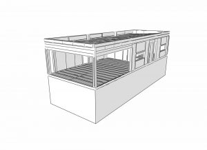 superstructure and extension sip panel
