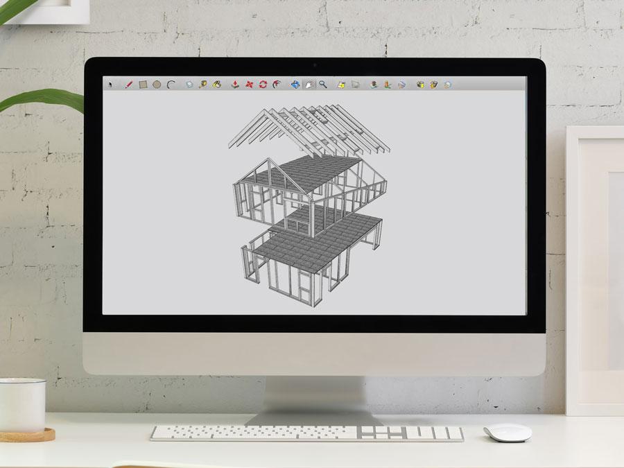 projekcia stavby systém SIP