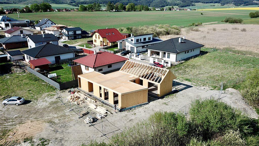 výstavba nízkoenergetického domu systémom SE-SIP