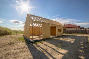konštrukcia nízkoenergetického domu systémom SE-SIP