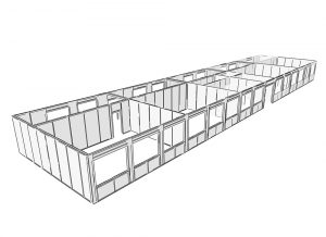 fast construction of the school with the SIP system