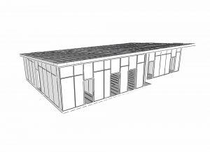 rýchla výstavba školy - SIP panelová stavba